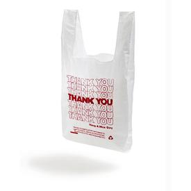 Thank You Thank You Tote WHITE_RED