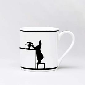 Cake Loving Rabbit Mug