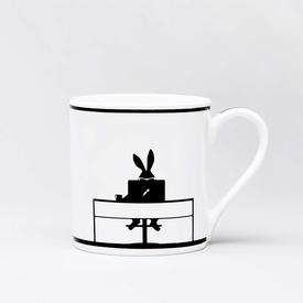 Working Rabbit Mug