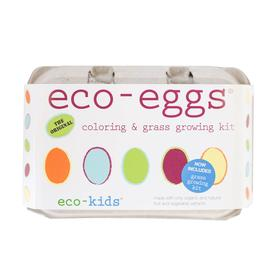 Eco- Friendly Egg Coloring And Grass Kit - 50 % Off