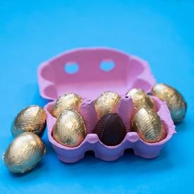 Chocolate Egg Carton - 50% off