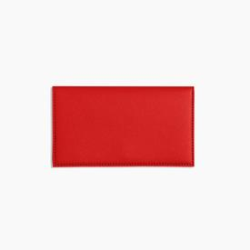 Minimalist Travel Wallet - Red RED