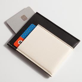 Pocket Wallet - Black and White