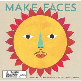 Make Faces Doodle and Sticker Book
