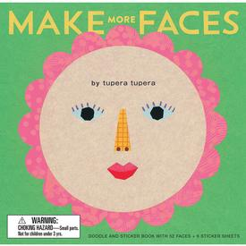 Make More Faces Doodle and Sticker Book