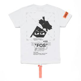 Virgil Abloh x Simon Brown FOS #259 T-Shirt - 32% off WHITE_MULTI