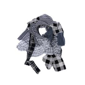 Flutter Scarf - Black and White