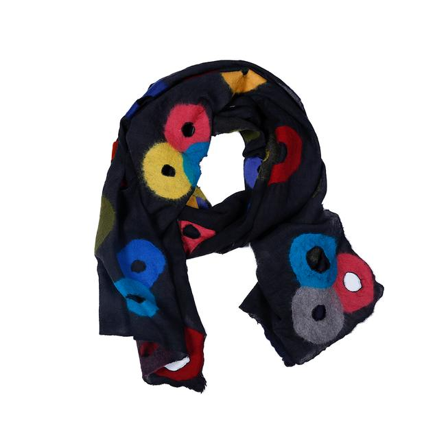 Holey Scarf - Multi- Colored