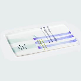Rectangle Porcelain Artware Tray