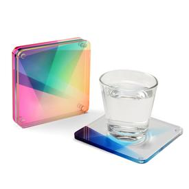 Rainbow Coaster Set