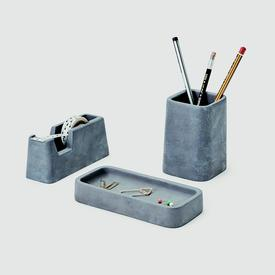 Desk Set - Concrete
