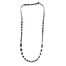 Domino Necklace - Black and White