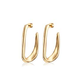 Edith Hoop Earrings