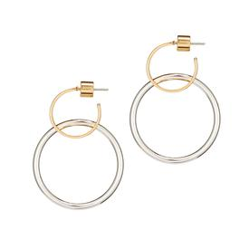 Imogen Hoop Earrings SILVER_GOLD