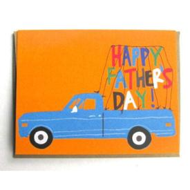 Pick-Up Truck Father`s Day Card