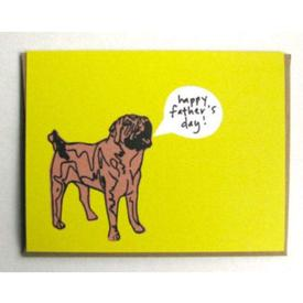 Shar Pei Father`s Day Card