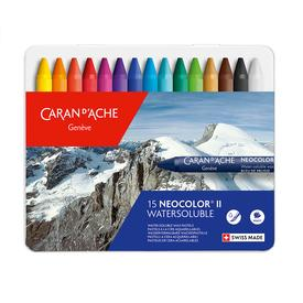 Neocolor II Watersoluble Pastels Set of 15 MULTI