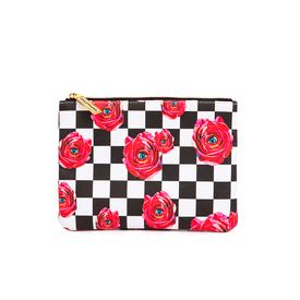 Rose Eyes Zipper Pouch