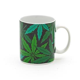 Pop Art Leaf Mug