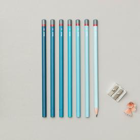 Gradient Sketching Pencil Set - Blue BLUE