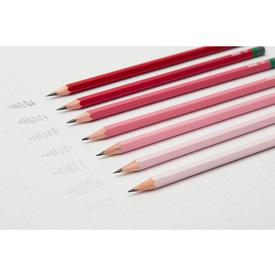 Gradient sketching Pencils Set  - Pink