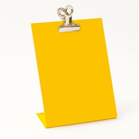 Clipboard Frame Small - Yellow