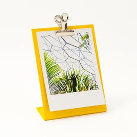 Clipboard Frame Small - Yellow YELLOW