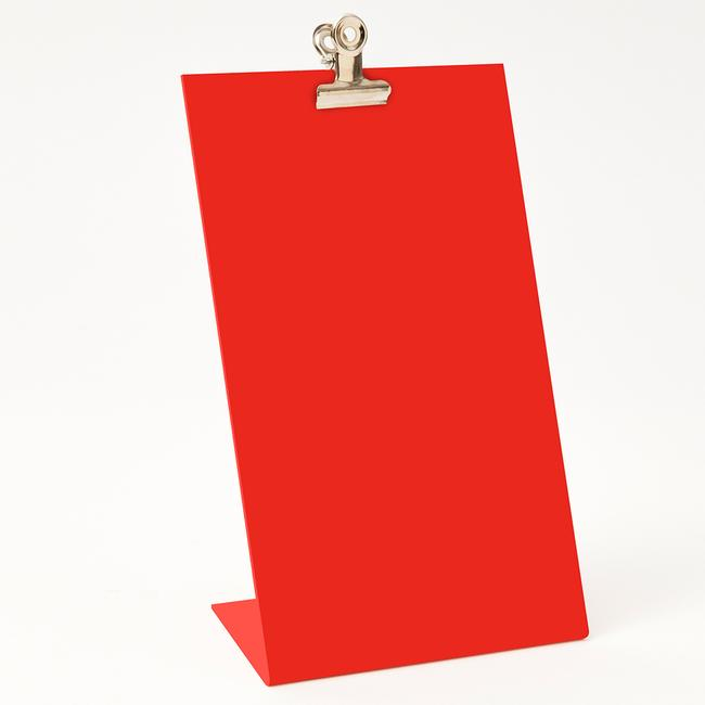 Clipboard Frame Medium - Red