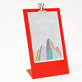 Clipboard Frame Medium - Red RED