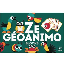 Geoanimo Wooden Blocks Set