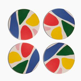 Abstract Coaster Set