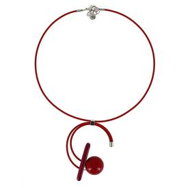 Melody Necklace - Red