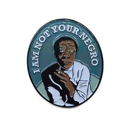 James Baldwin Pin