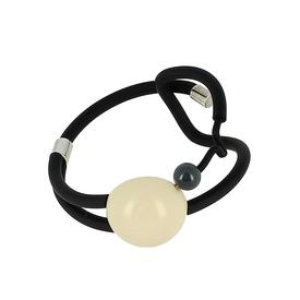 Miro Bracelet - Black and White BLACK