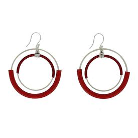 Cadence Earrings - Red