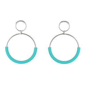 Klint Earrings - Blue