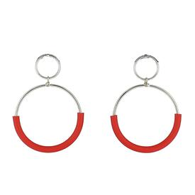 Klint Earrings - Red