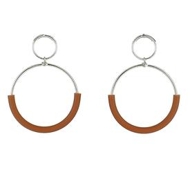 Klint Earrings - Brown