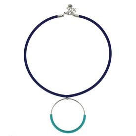 Klint Necklace - Royal and Sky Blue