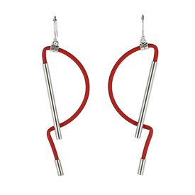 Pinacéa Earrings - Red