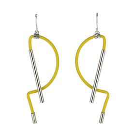 Pinacéa Earrings - Yellow