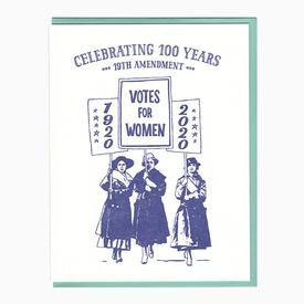 Votes for Women Card