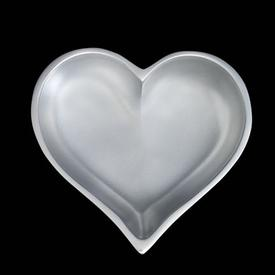 Heart Bowl with Spoon - Silver