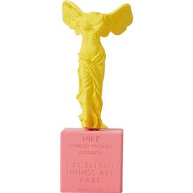 Nike Statue Yellow and Pink - Small