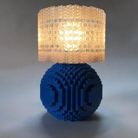 Splash of Color Brick Lamp Kit - Blue