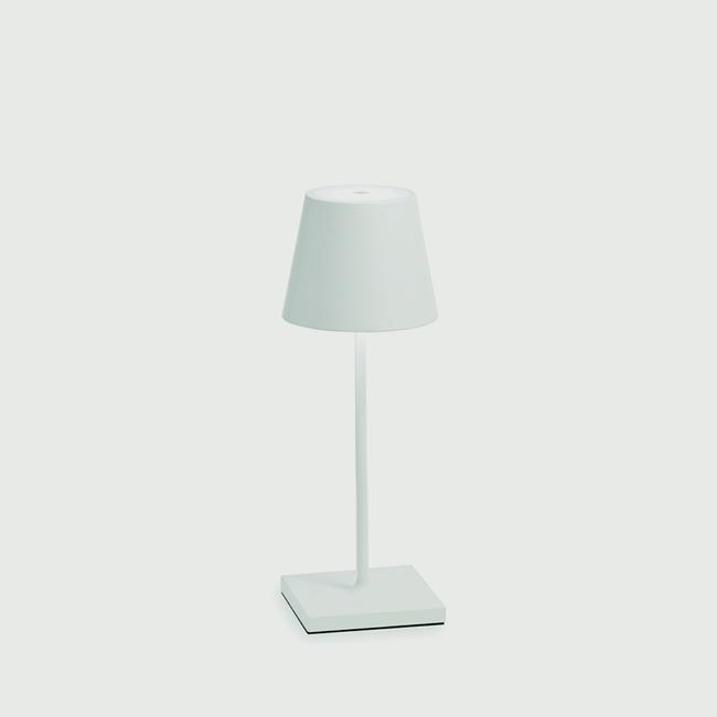 Poldina Portable, Dimming Mini Table Lamp - White