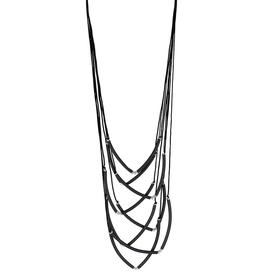 Strand Necklace - Black BLACK
