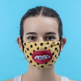 Double Layer Sh*t Pois Face Mask- Small/Medium