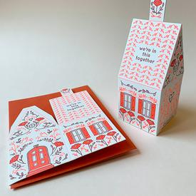 We're In This Together 3D House Card