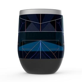 Brandon Breaux X MCA Blue Wine Tumbler